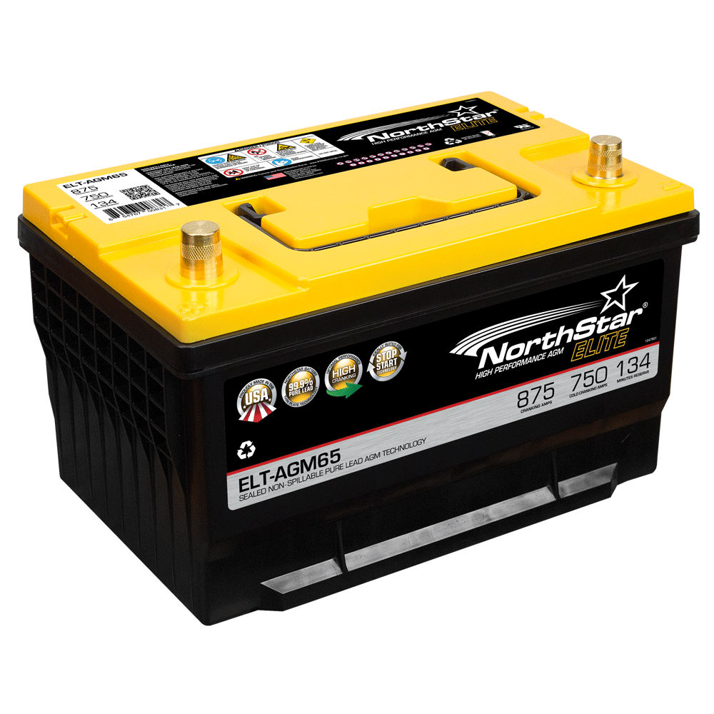 NORTHSTAR Pure Lead Automotive Group 94R Battery NSB-AGM94R L4