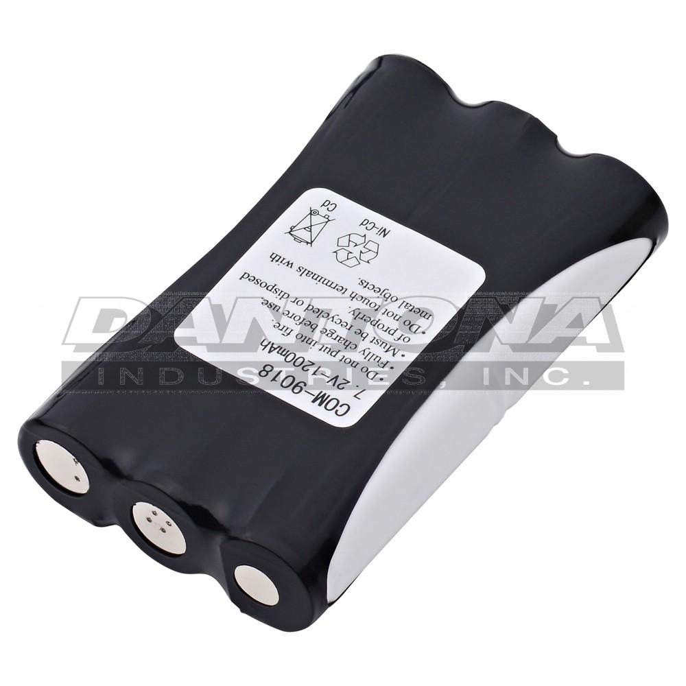 Two-way Radio Dantona SBP-120-800 Nickel Cadmium NICD Battery 4.8 ...